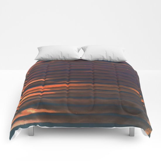 We Have Copper Dreams at Night Comforters