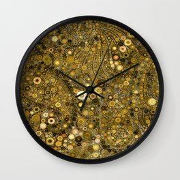 :: Good as Gold :: Wall Clock