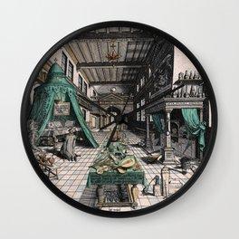 Alchemist's laboratory Wall Clock