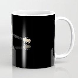 Pale Acoustic Guitar Reflection Coffee Mug