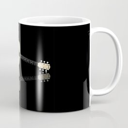 Pale Acoustic Guitar Reflection Coffee Mug