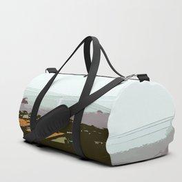 Criss-cross Duffle Bag