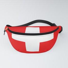 Swiss Flag of Switzerland Fanny Pack