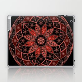 Autumn Fall Mandala Spirograph Art Pattern Design Rosette Laptop & iPad Skin