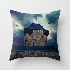 Castle Burg Throw Pillow