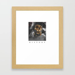 History  Framed Art Print
