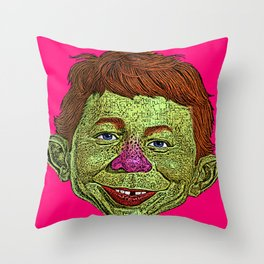 Alfred E. Newman MAD Throw Pillow