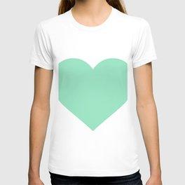Heart (Mint & White) T-shirt