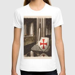 The Lost Templar T-shirt
