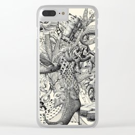 Tree of Wonders Clear iPhone Case