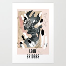 Leon Bridges Art Print