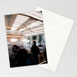 Roma, giostra piazza Navona | Rome, carousel in Navona square Stationery Cards