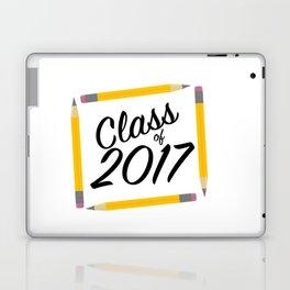 Class of 2017, black font Laptop & iPad Skin