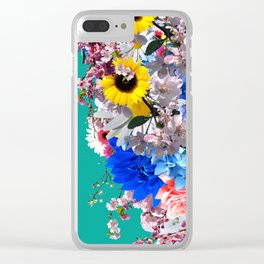 Light is needed to grow flowers Clear iPhone Case