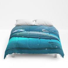 Weird Waters Comforters