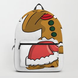 christmas gingerbread man  Backpack