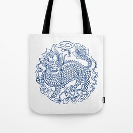 Chinese Kylin Tote Bag