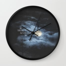 Away From All Of Reality Wall Clock