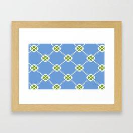 Bluey Beany Framed Art Print
