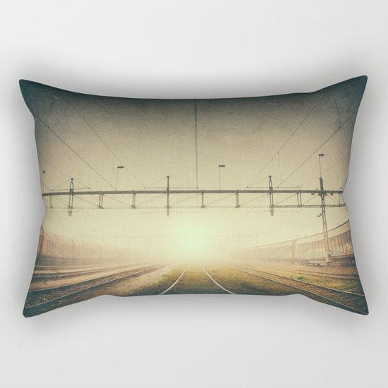 Where to go Rectangular Pillow