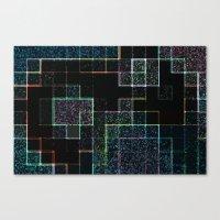 tetris Canvas Prints featuring Tetris by Audrey Erickson