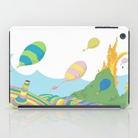 dr seuss iPad Cases featuring oh the places you'll go .. dr seuss by studiomarshallarts
