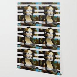 "Leonardo Da Vinci's ""Portrait of Ginevra Benci"" & Elizabeth Taylor Wallpaper"