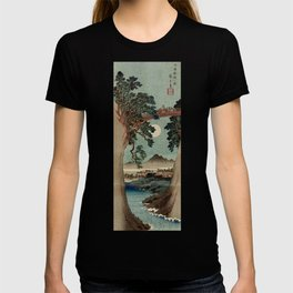 Saruhashi Bridge in Kai Province Japan T-shirt