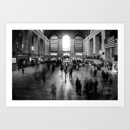 Grand Central Perspectives Art Print