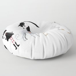Dreamer and her Companions Floor Pillow