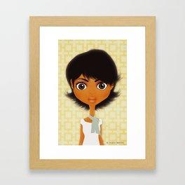 Chloe Framed Art Print