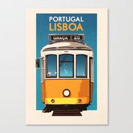 Portugal - Lisbon Canvas Print