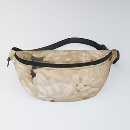 Monochrome Abstract Mums Fanny Pack