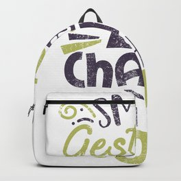 Small Gestures Change The World Backpack