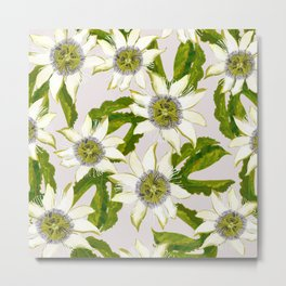 Passion Flower. Metal Print