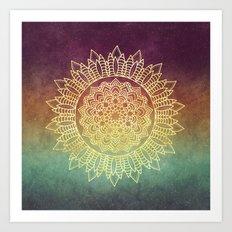 Nature's Mandala Art Print