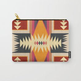 Navajo Pattern Three Carry-All Pouch