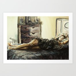 A Body for You Art Print