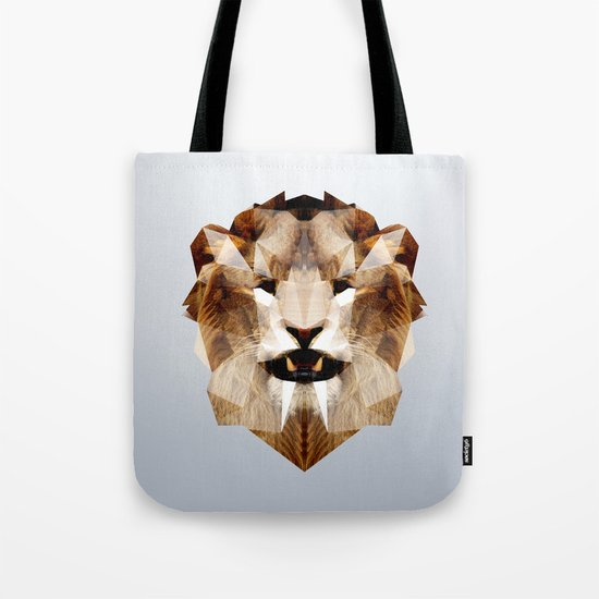 Lion - Augmented Tote Bag