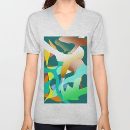 Blowin in The Wind Unisex V-Neck