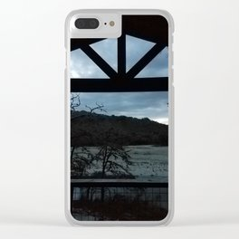Cabin in Texas Hill Country Clear iPhone Case