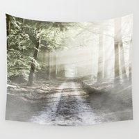 fairytale Wall Tapestries featuring Fairytale Forest by Helmar Designs