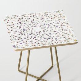 Spash Sunset Side Table
