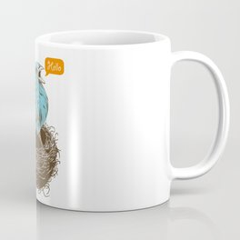 Twisty Bird Coffee Mug