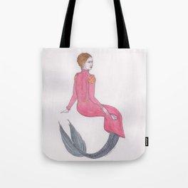 Sjöjungfrun Renässans Tote Bag