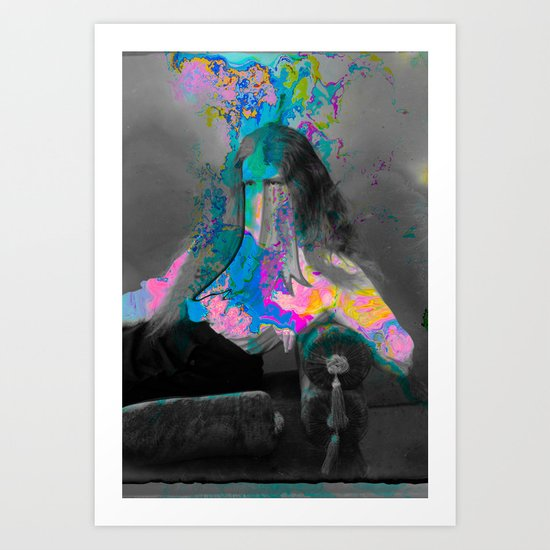 Forming from Within Art Print