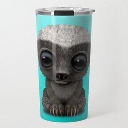 Cute Baby Honey Badger Travel Mug