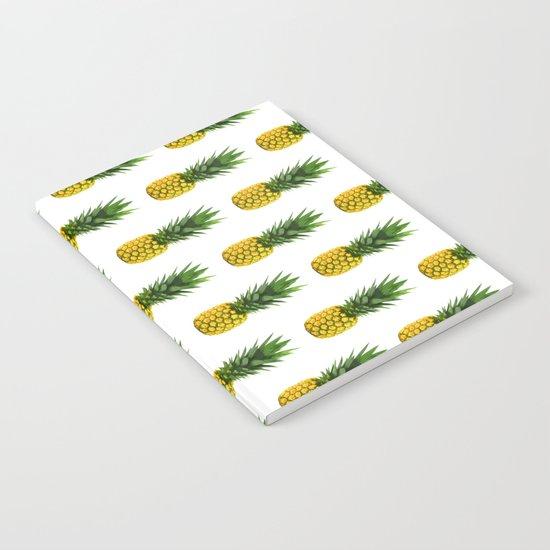 Pineapple Pattern Notebook