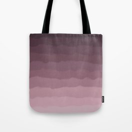 Gray Heather Fluff Gradient Tote Bag