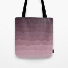 Gray Heather Fluff Gradient Tote Bag